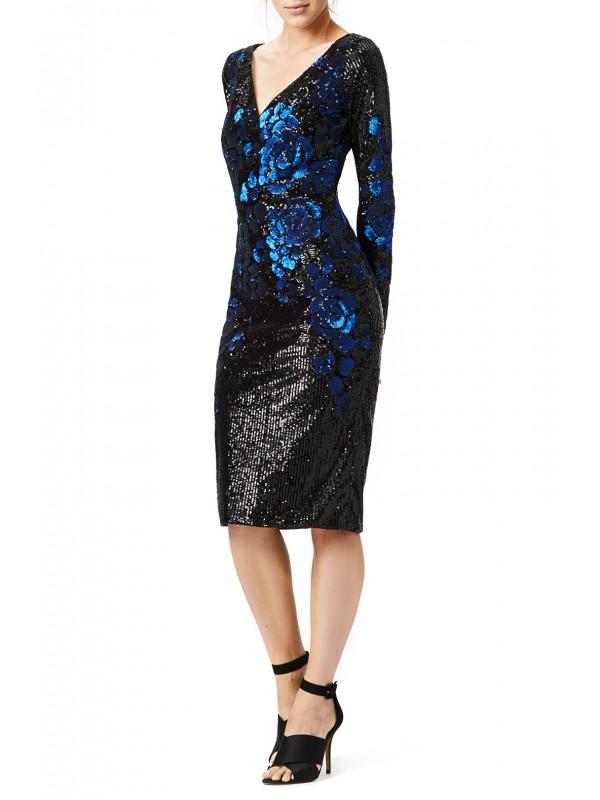 Blue Blooms Dress