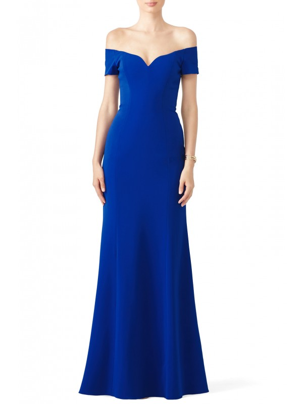 Cobalt Sweetheart Gown