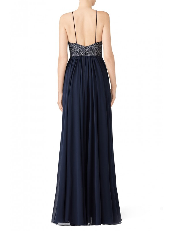 Navy Ballerina Gown