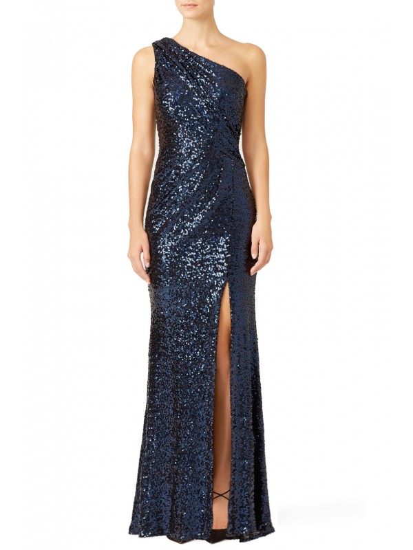Navy Constellation Gown