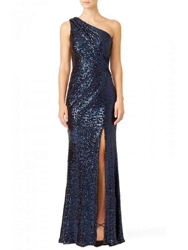Navy Constellation Gown