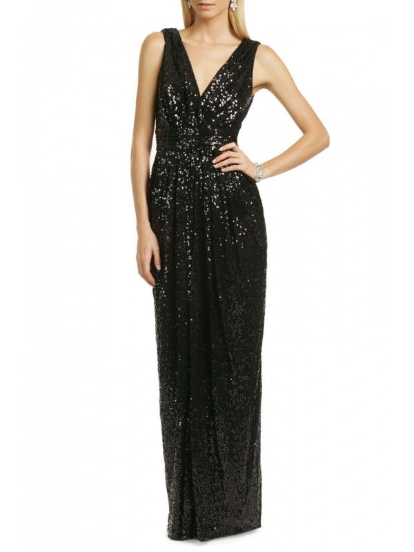 Putting On The Glitz Gown