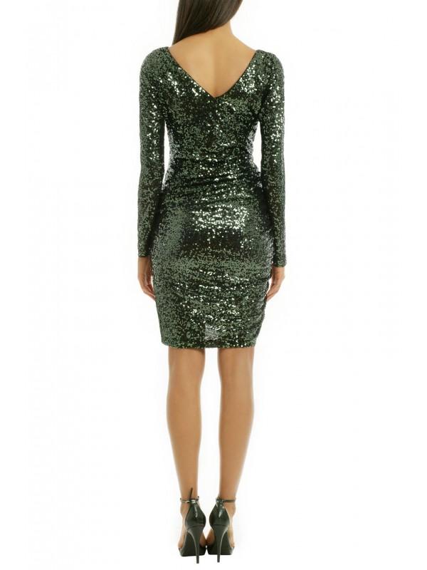 Sequin Shamrock Dress