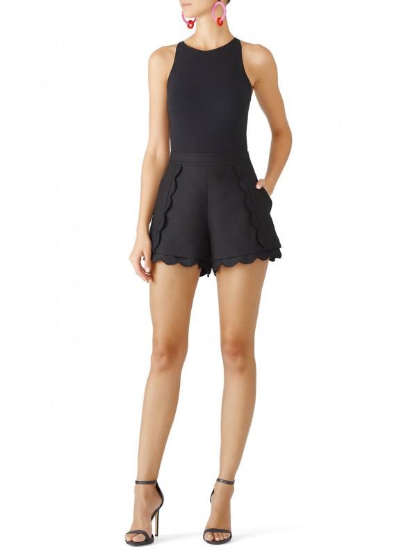 Black Duplicate Shorts