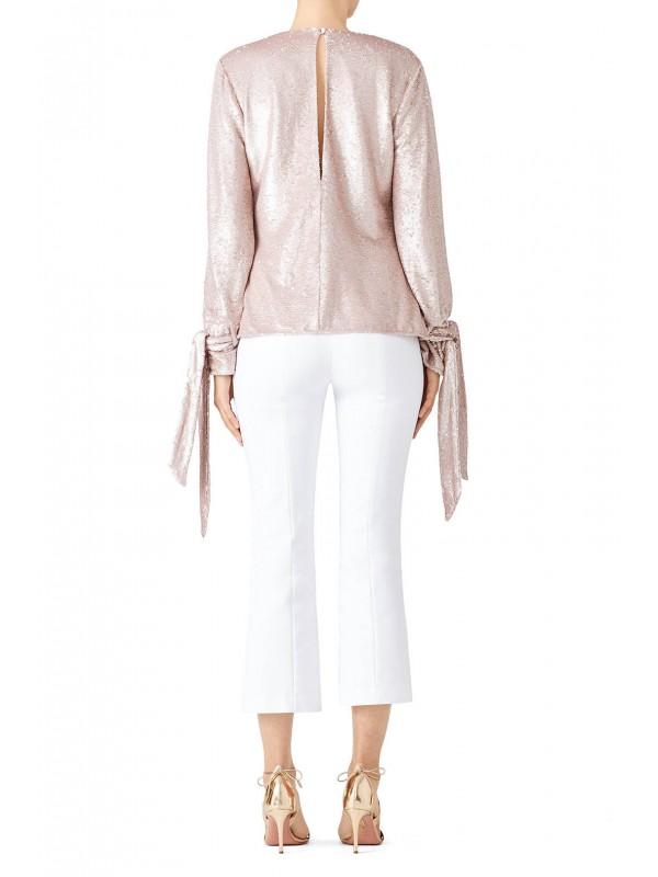 Pink Sequin Top