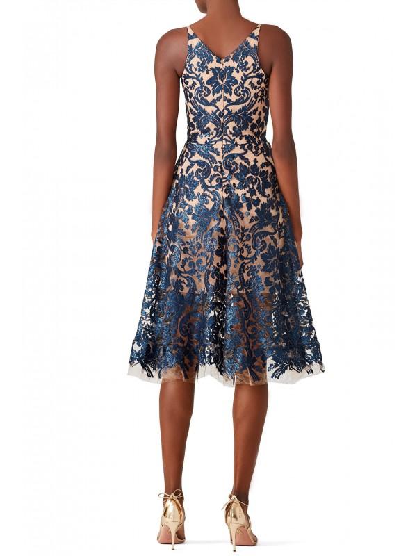 Blair Sequin Lace Dress