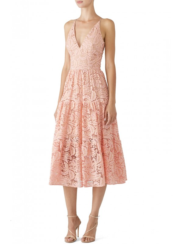 Rose Petal Alicia Dress