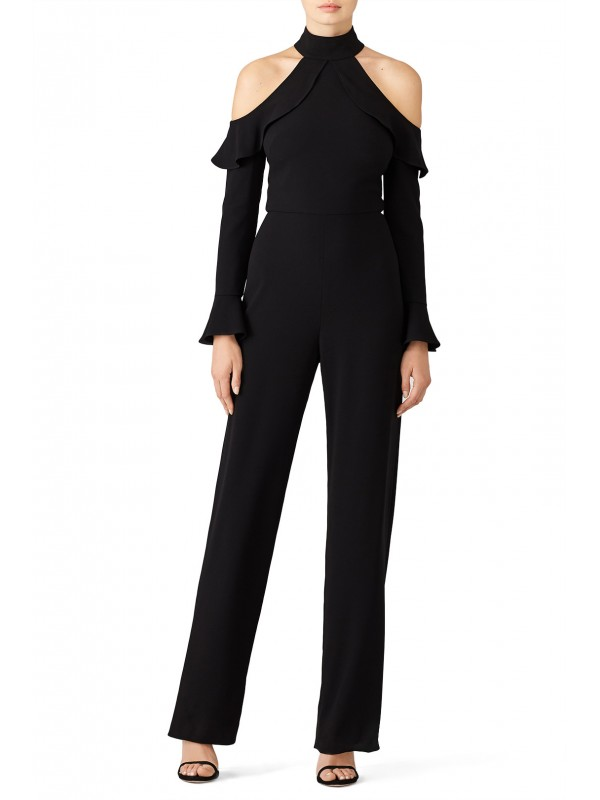 Black Cold Jumpsuit