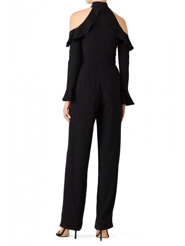 Black Cold Jumpsuit
