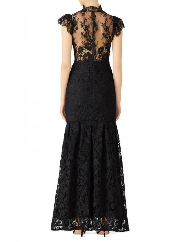 Black Trumpet Gown