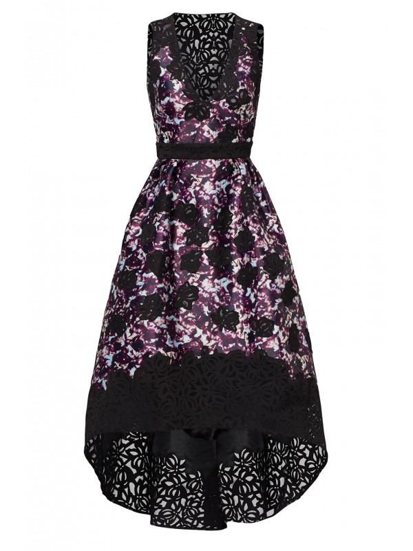 Dark Floral Alex Dress