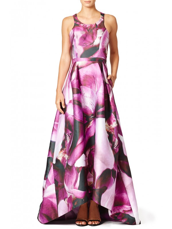 Fuchsia Gown