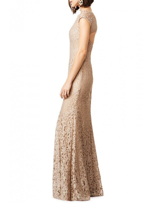 Glitter in Gold Gown