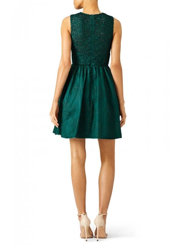 Ivy Green Lace Dress
