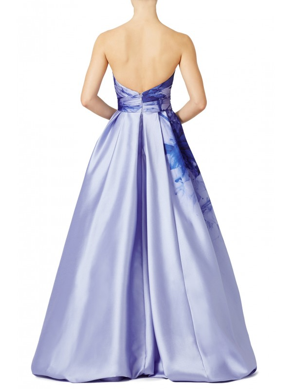 Lilac Bloom Gown