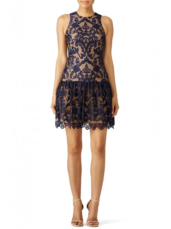 Midnight Lace Dress