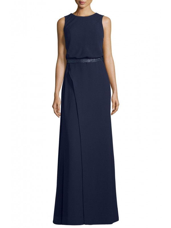 Navy Allure Gown