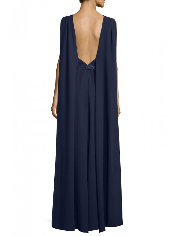 Navy Allure Gown