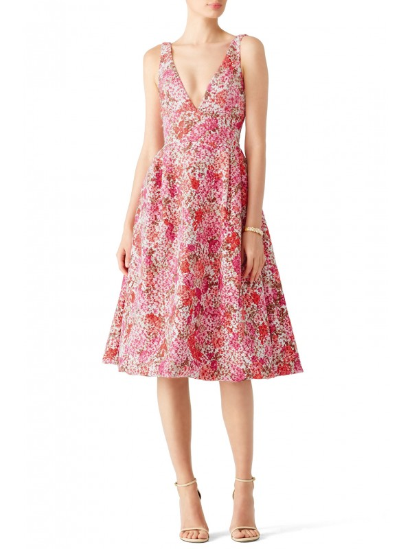 Pink Multi Floral Dress
