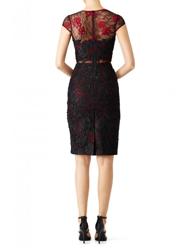 Royal Rose Sheath Dress