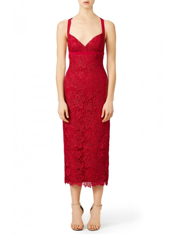 Scarlet Candlelight Dress