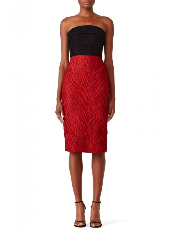 Stitch Colorblock Dress