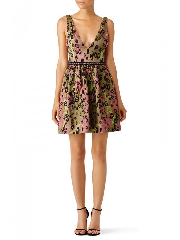 Arielle Leopard Dress