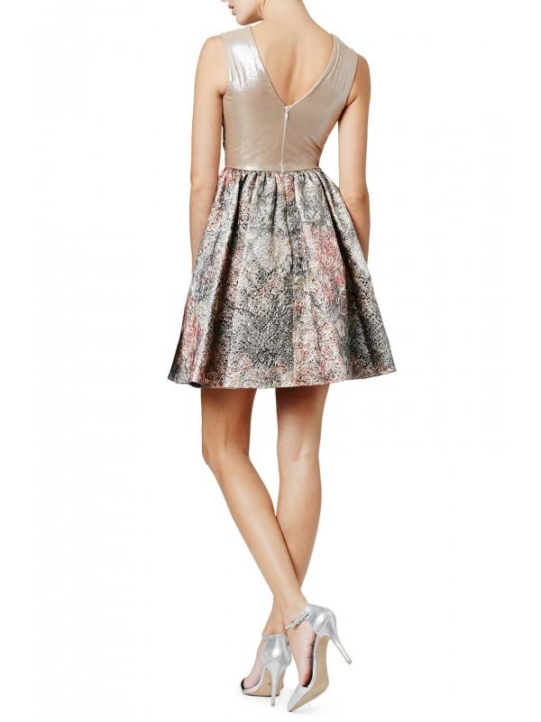 Bold Baroque Dress