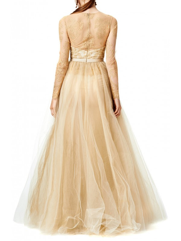 Dipped in Gold Gown