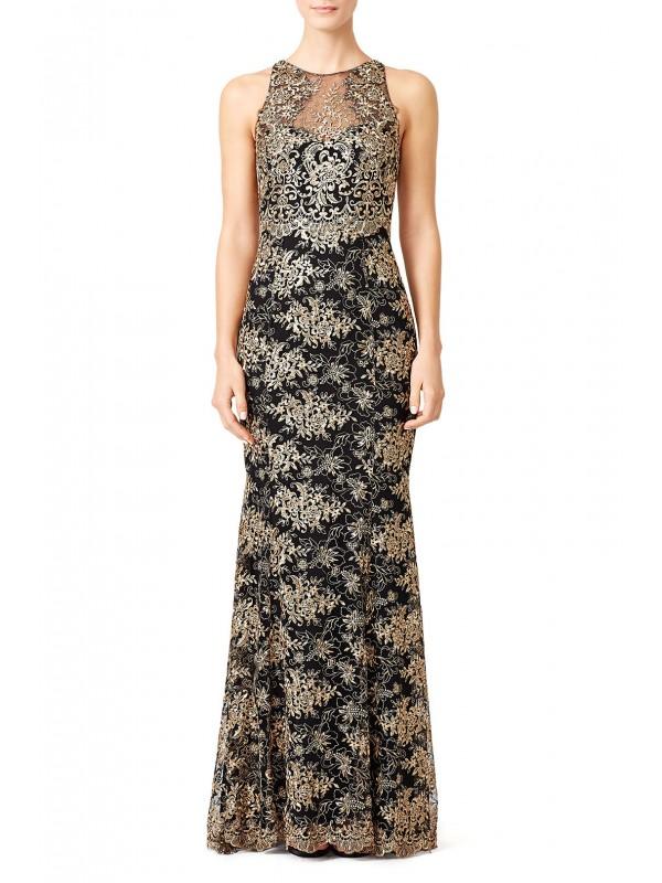 Gilded Garden Gown