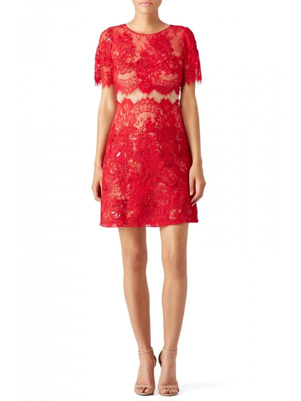 Red Diane Dress