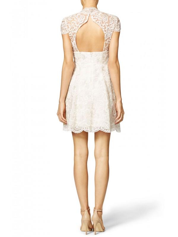 Scalloped Empire Dress
