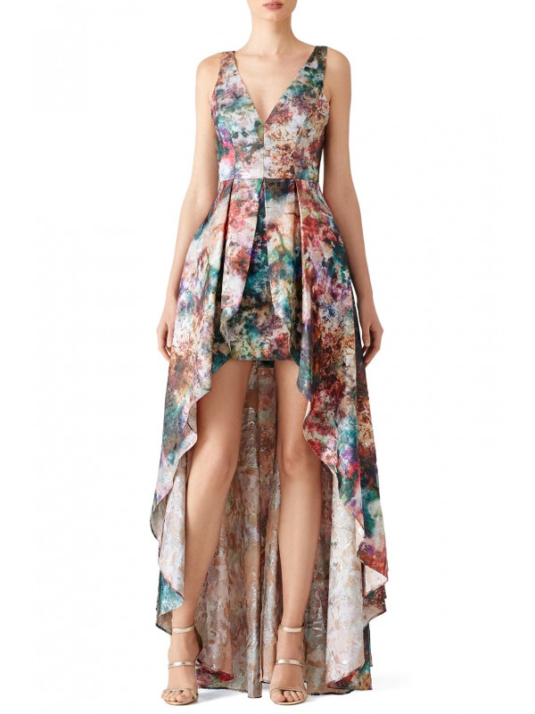 Stardust High Low Gown