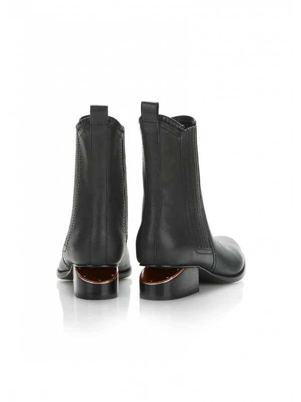 ANOUCK BOOT WITH ROSE GOLD