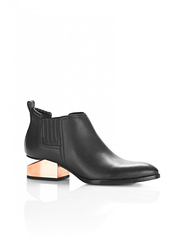 KORI OXFORD WITH ROSE GOLD HEEL