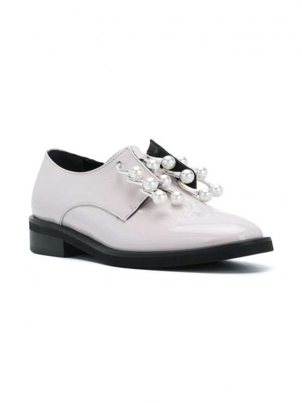 COLIAC RING- EMBELLISHED OXFORD SHOES
