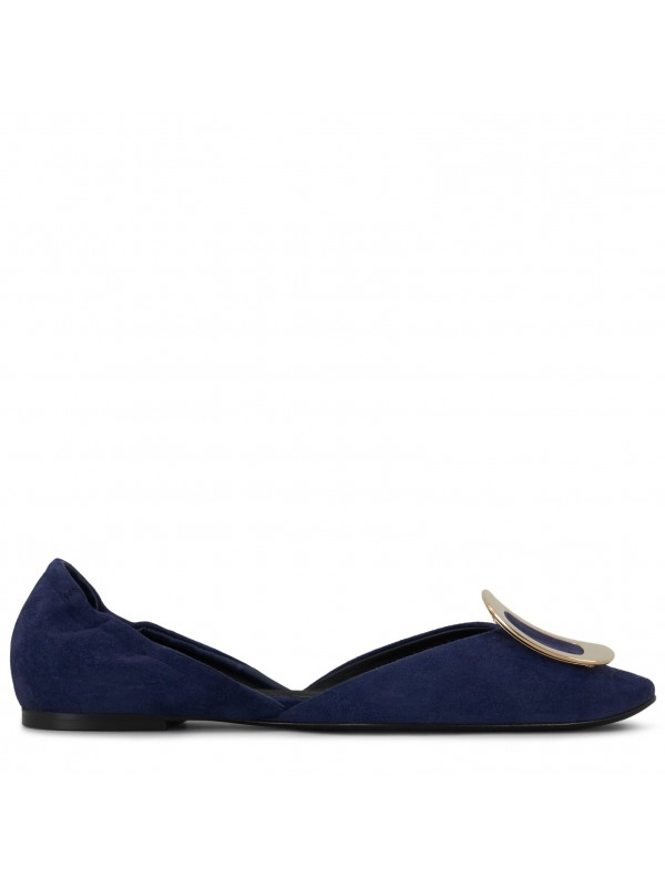 VIVIER Chips Ballerinas in Suede