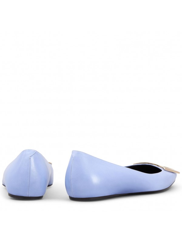 VIVIER Trompette Ballerinas in Patent Leather