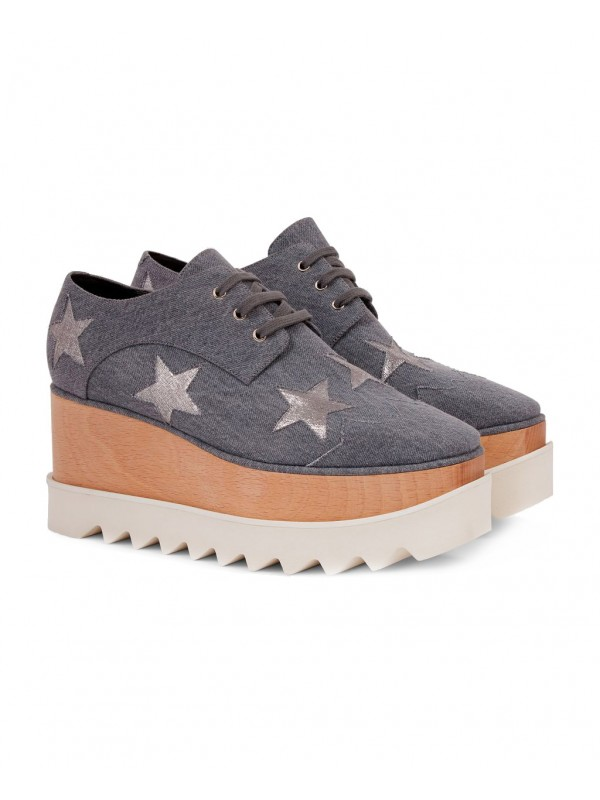 STELLA ELYSE Denim Stars Elyse Shoes